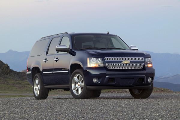 2010 Chevrolet Suburban LTZ. X10CT_SU003 (United States)